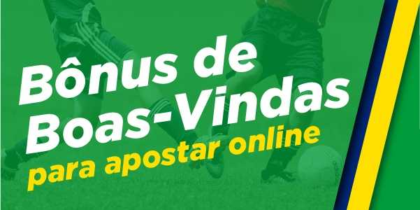 Bonus de boas-vindas para apostar online