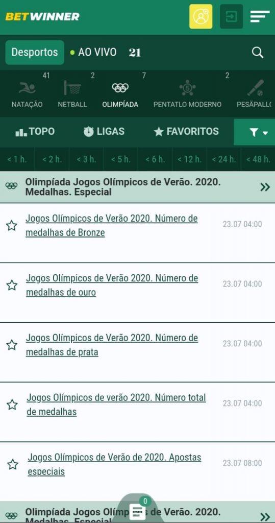 Melhores sites para apostar nas Olimpíadas Tóquio 2021