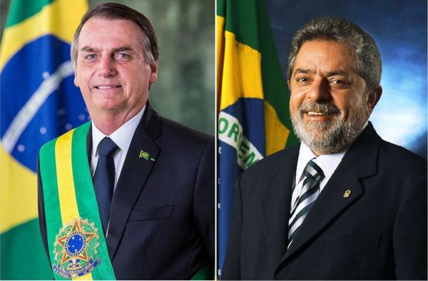 Apostas Lula x Bolsonaro
